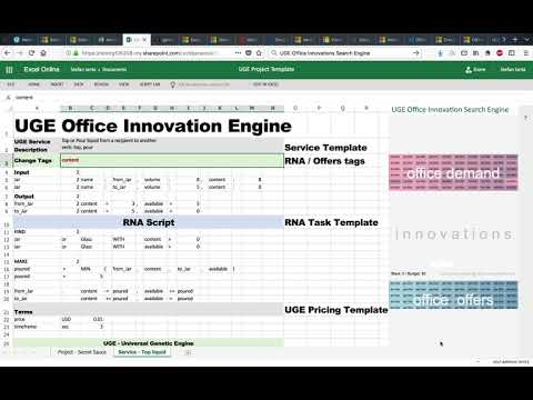 UGE Office Innovation Search Engine