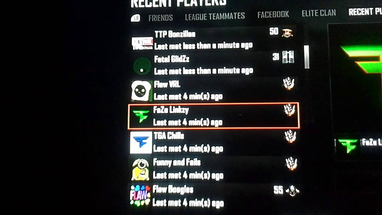 Got In A Game With Faze Linkzy Youtube