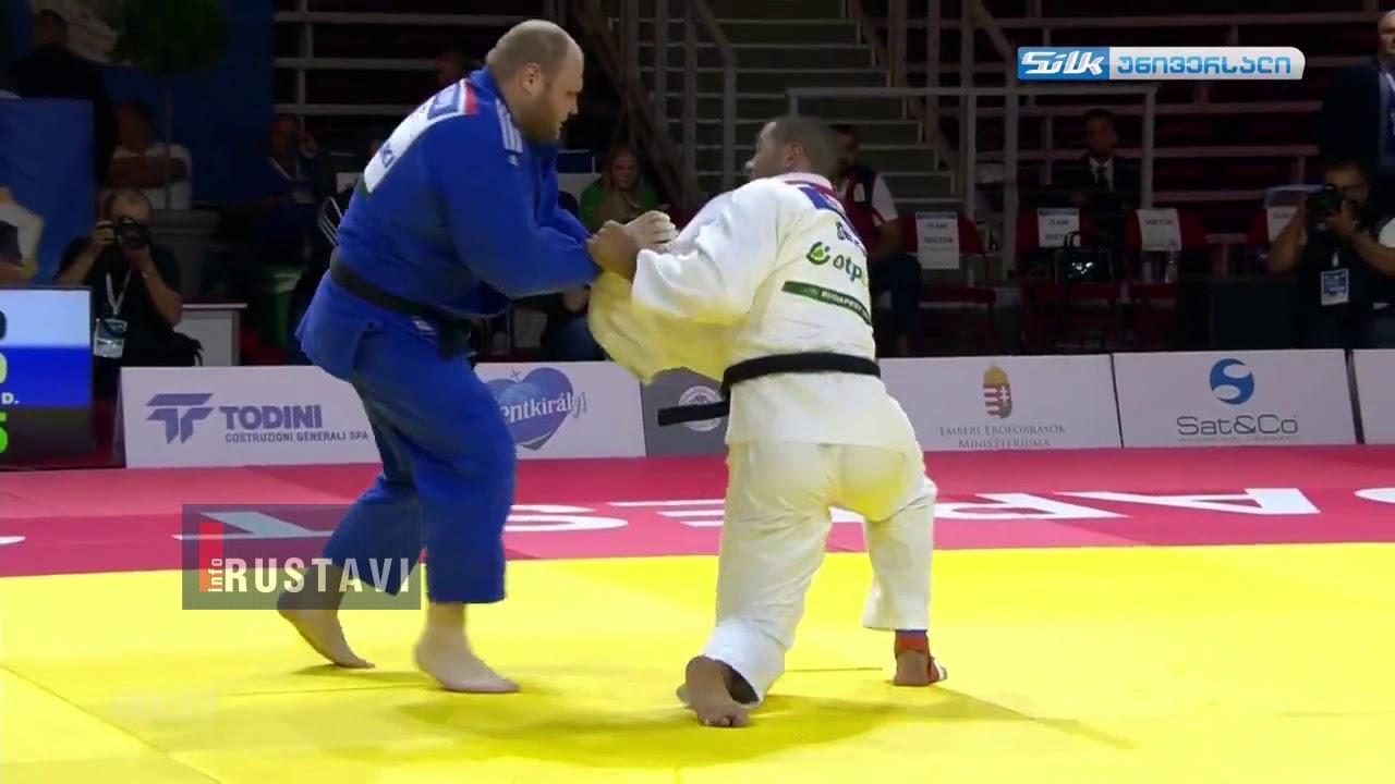 გურამ თუშიშვილმა მეტოქე 9 წამში იპონით დაამარცხა  Guram Tushishvili wins in 9 Seconds  Judo
