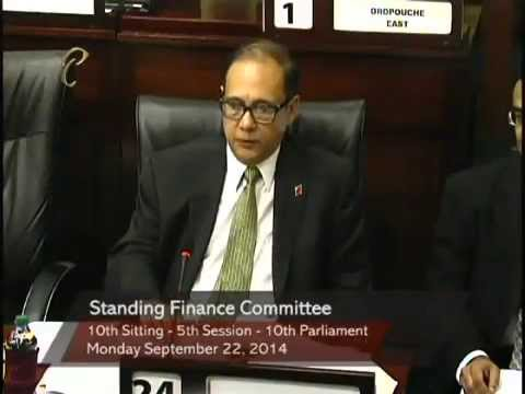 Standing Finance Committee - Ministry of Finance and the Economy - Part 2