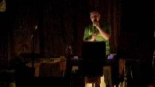 Trav singing Karaoke