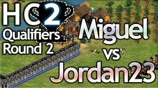 Hidden Cup 2 Qualifier | Jordan23 vs Miguel | Round 2