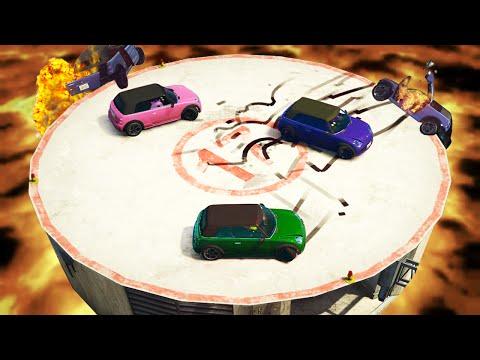 BEST ROOFTOP SUMO BATTLE! (GTA 5 Funny...