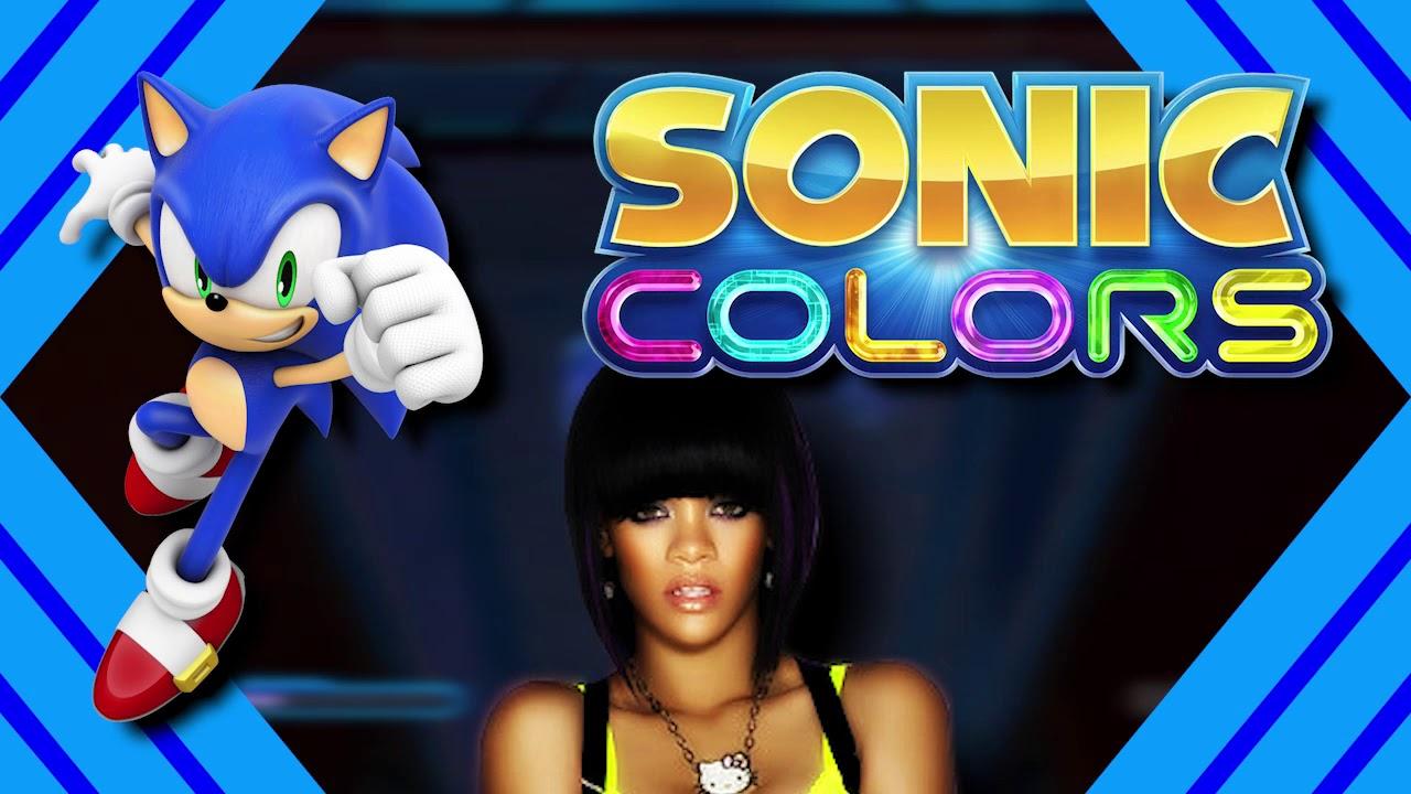 Aquarium Umbrella Mashup Sonic Colours X Rihanna Youtube