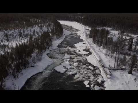 Mavic Pro does the river Storforsen