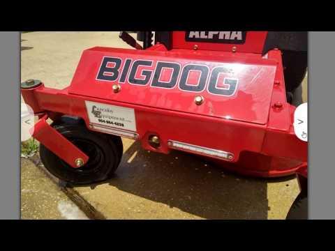 I Sold My Very First Mower (2017 Big Dog Alpha 36