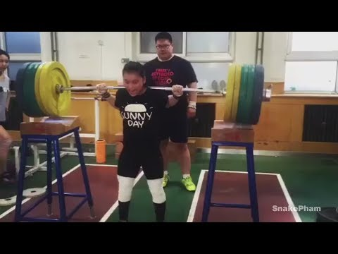 Chinese weightlifting training Compilation - Part 2