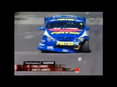 2002 V8 Supercars - Canberra 400 - Top 15 Shootout - Marcos Ambrose