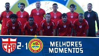 CRB 2 x 1 Juazeirense | Gols e melhores momentos | Jogo da volta | Pré-Copa do Nordeste