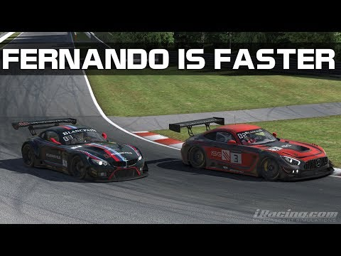 "iRacing - ""Fernando Is Faster Than You"" (GT3 @ Montreal)"