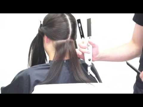 Как делается кератиновое выпрямление волос