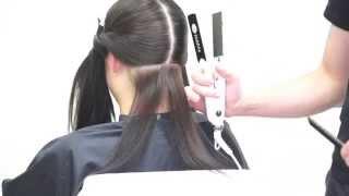 видео Укладка волос комбинированным способом