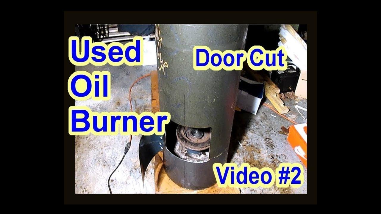 Diy waste used motor oil burner heater furnace no for Burning used motor oil for heat