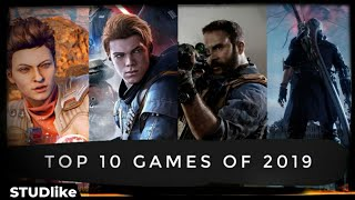 The Top 10 Games Of 2019   Best Video Games of 2019   PS4, PC Gaming, Xbox One   STUDlike