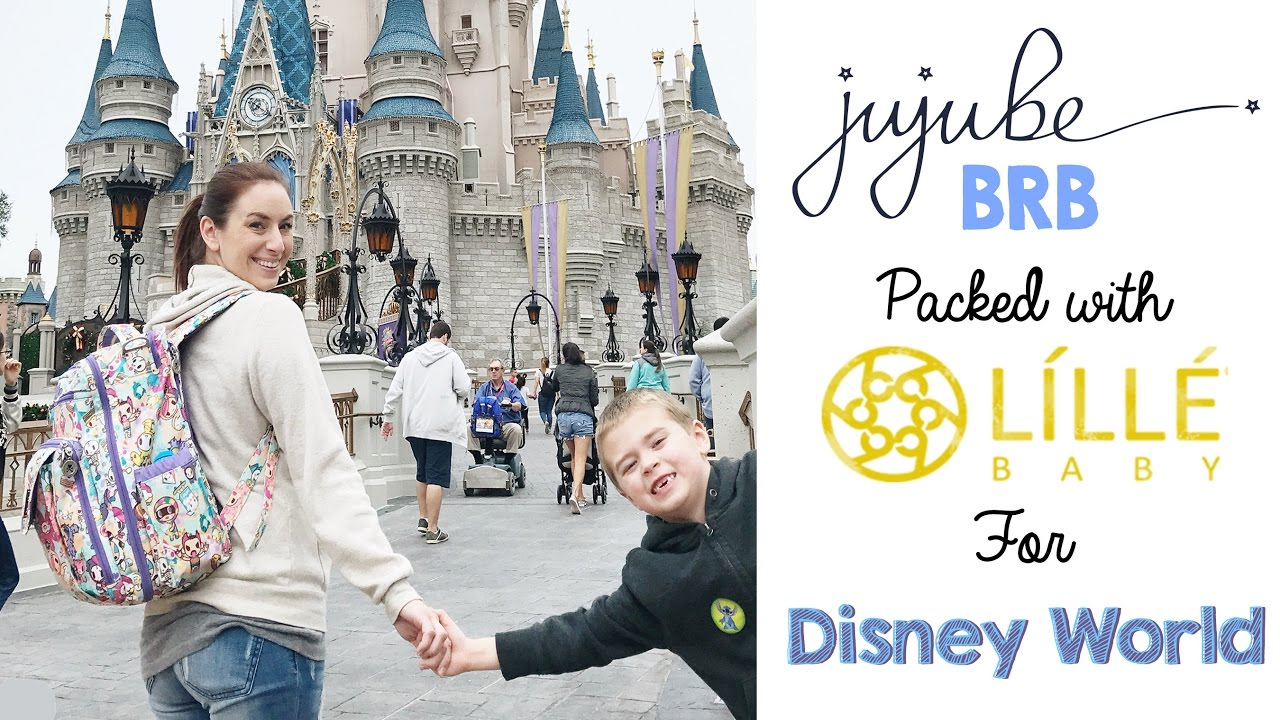 How To Pack Your Diaper Bag For Disney World Ft Ju Ju Be Brb Lillebaby Carryon Airflow