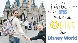 How to Pack Your Diaper Bag for Disney World! Ft. Ju-Ju-Be BRB + Lillebaby CarryOn Airflow!
