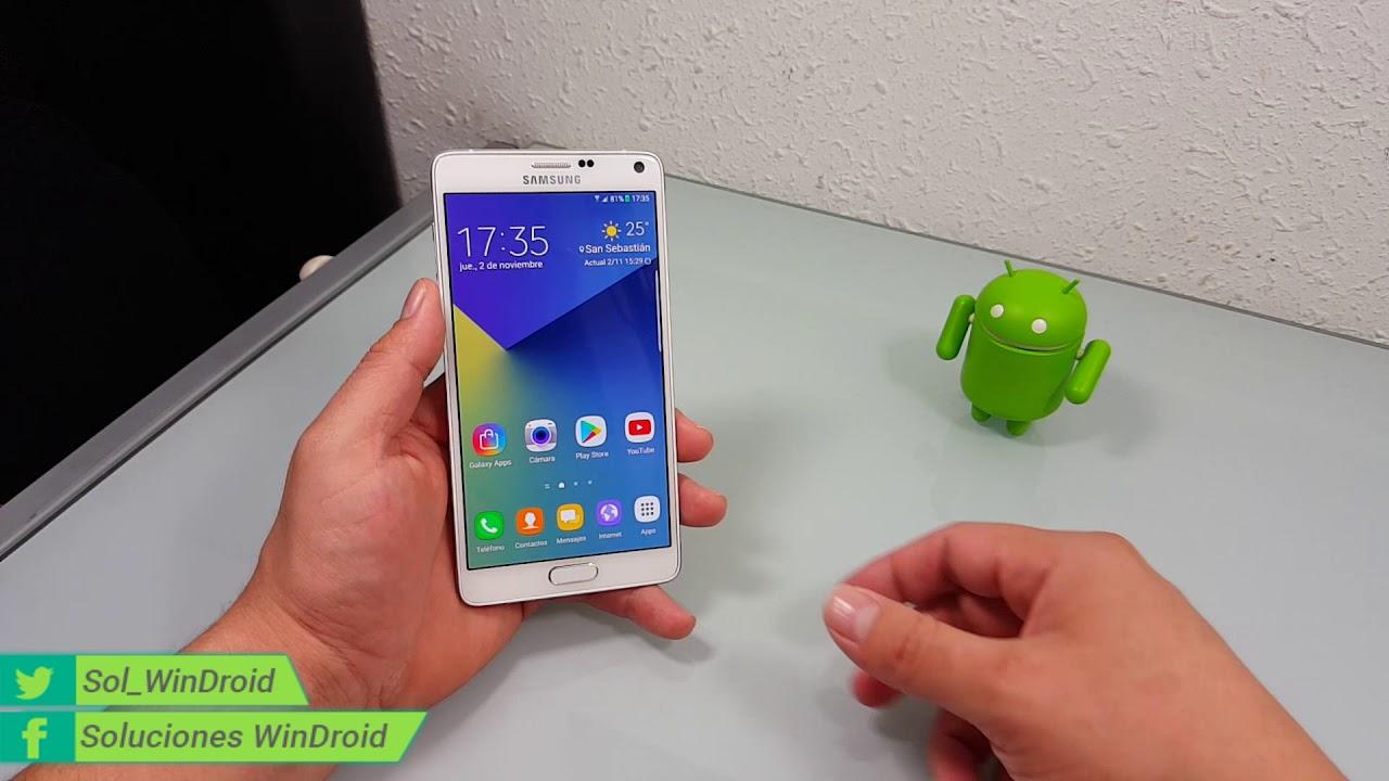 ROM B-DOG Note 7 para el Galaxy Note 4