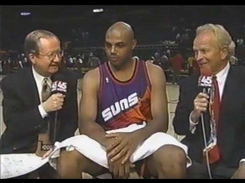 (NOT THE WHOLE GAME) Phoenix Suns @ Golden State Warriors - Rd 1, Gm 3, 1994 NBA Playoffs - 5/3/94