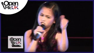 Open Mic UK | Arisxandra Libantino | Talent contest in the North East
