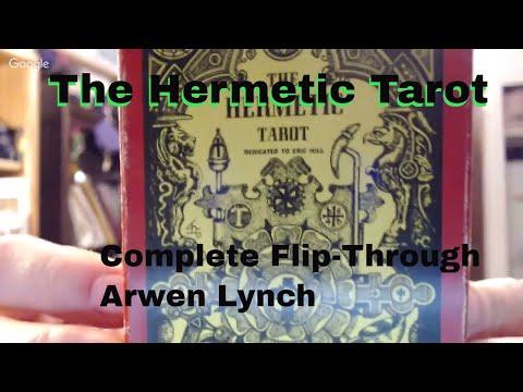 ArwenTarot: The Hermetic Tarot (Godfrey Dowson, 1979)