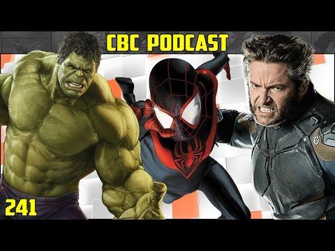CBC - X-Men Spoilercast, Miles Morales Film, Planet Hulk in Thor 3, Flash Speculation