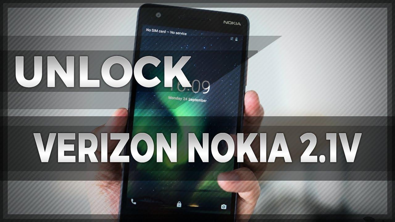 How To Unlock Verizon Nokia 2 1V by Unique Network Unlock Code