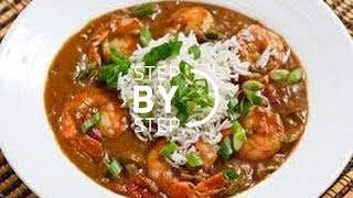 How To Make Shrimp Gumbo! Gumbo Recipe For Seafood Gumbo, Seafood Gumbo With Okra
