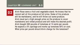 Learning Unit 8-3 Video