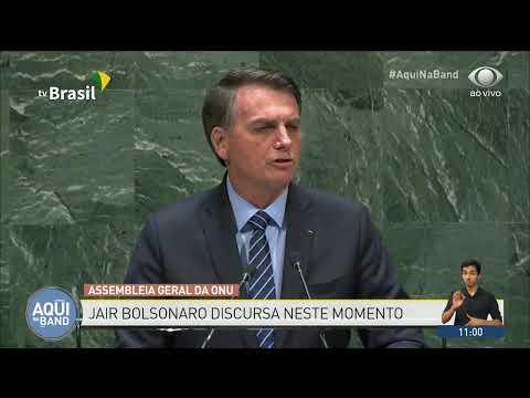 Bolsonaro arrasa em discurso na ONU informa ao mundo que o Brasil é soberano