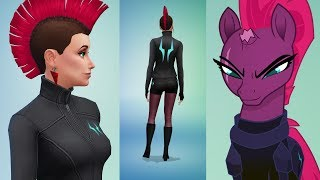 Tempest Shadow (My Little Pony The Movie) - The Sims 4 - CAS