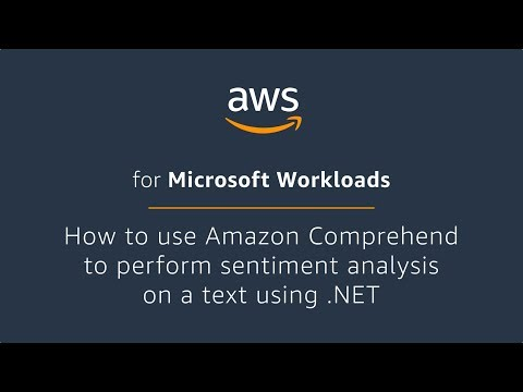 How to Use AWS Comprehend to Perform Sentiment Analysis on a Text