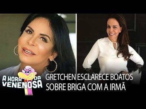 Gretchen esclarece boatos sobre briga com a irmã, Sula Miranda