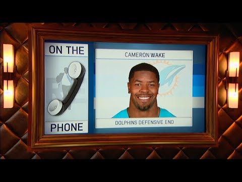Miami Dolphins DE Cameron Wake Talks Dolphins Football & More - 8/14/17