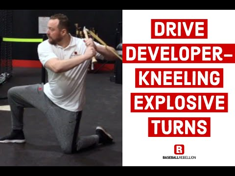 Drive Developer   Kneeling Explosive Turns