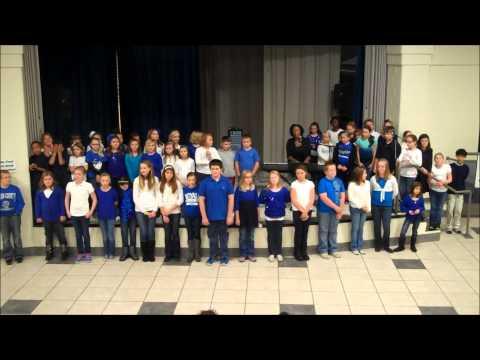 All You Need Is Love - Joy Ike & Mason County Intermediate School Kids Choir!