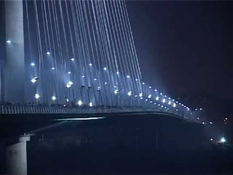 Most na Adi / Bridge on Ada - Decorative Lighting by Gulf Line Int'l