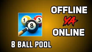 8 Ball Pool game offline ya online    screenshot 4