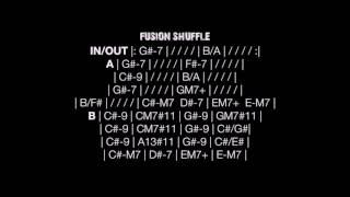 Backing Tracks - Jazz Fusion Shuffle