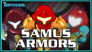 A look through Samus' armors