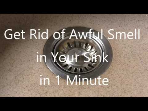 how-to-get-rid-of-that-awful-smell-in-your-sink-drain-[just-1-minute]