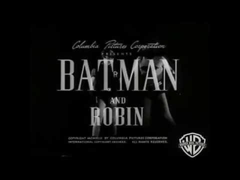 1949 Batman Serial Intro/Introduction VHS Version