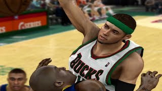 NBA 2k12 My Player - Career Night in Milwaukee Ep.6