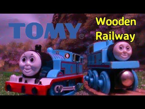 Tomy Thomas Meets Wooden Railway 5000 Subscribers