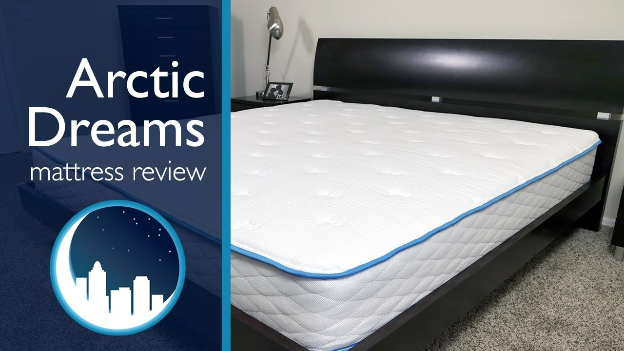 Arctic dreams mattress review youtube for Dreamfoam vs brooklyn bedding