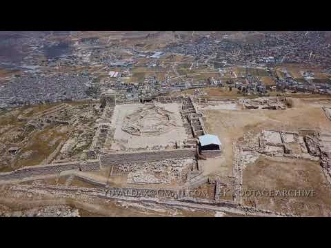 הר גריזים, צילום אוירי , Mt. Gerizim, Aerial View