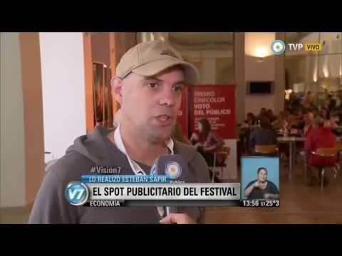 Visión 7 - Festival de Cine de Mar del Plata: Sapir, realizador del corto por el 60 aniversario