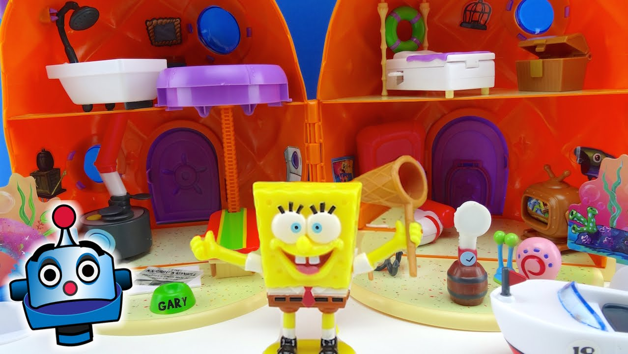 Sponge Bob Pineapple House Playset  YouTube