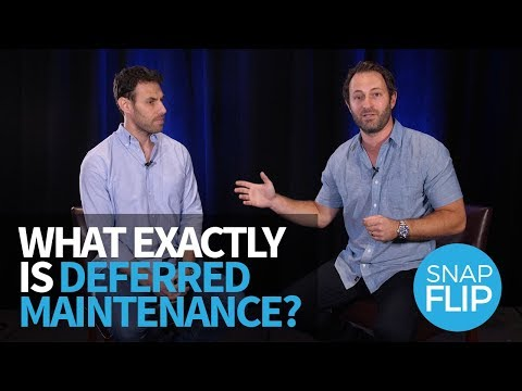 What Exactly is Deferred Maintenance and Why Does it Matter?