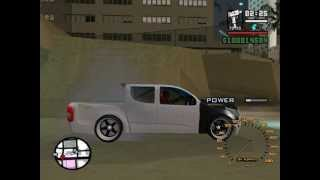 Gta san All new  chevrolet VS All new D-max .By @Drew