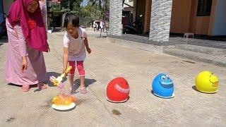 Bernyanyi FINGER FAMILY BALLOONS SONG Belajar Warna Dengan B...